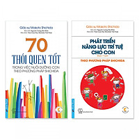 Combo 2 cuốn: Nuôi dạy con theo phương pháp SHICHIDA