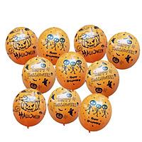 10 bong bóng cao su trang trí Halloween