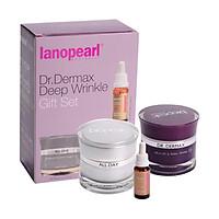 Bộ 3 sản phẩm ngăn ngừa, chống lão hóa chuyên sâu Lanopearl Dr.Dermax Deep Wrinkle Gift Set