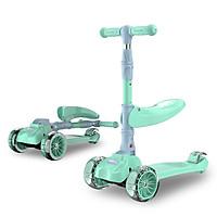 Xe Scooter của Đức tính năng 2 trong 1 có đèn và chong chóng