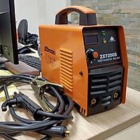 máy hàn que dùng điện công trình 220V Samaki thế hệ hiện đại hồng ký mẫu mới
