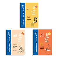 Sách - Combo 3 cuốn Thay Tư Duy Xoay Cục Diện - Ngưng sống cầm chừng, Vĩnh Biệt Lối Mòn, Dấu Ấn Vô Thanh