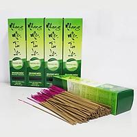 Hương Nhang Trầm Sạch - 1 hộp Nhang Mộc Tài Lộc 500 cây loại 30cm
