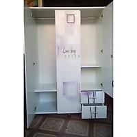 Tủ áo in 3D (trắng)
