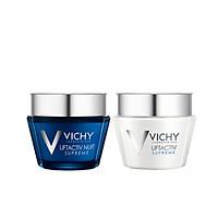 Combo Kem Dưỡng Săn Chắc Da Ngày Và Đêm Vichy Liftactiv Supreme (50ml)