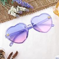 Heart Shape Kids Sunglasses Eyewear for Children Gift Party UV400 Protection