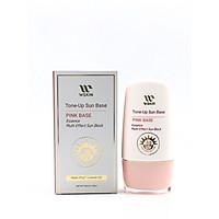 Kem Chống Nắng Lót Makeup WSKIN Sun Base Pink Base SPF50+ PA++++ 50ml