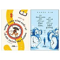 Combo 2 cuốn: Thanh Xuân Sống Khắc Kỷ Cả Đời Không Tầm Thường + Có Thanh Xuân Nào Không Đau Đớn, Có Tuổi Trẻ Nào Không Bão Giông
