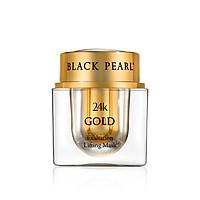 Mặt Nạ Nâng Cơ Mặt Vàng 24k Black Pearl - 24k Gold Exaltation Lifting Mask -  Có Nguồn Gốc Từ Biển Chết - Xuất Xứ Israel - Ngăn Ngừa Sự Hình Thành Nếp Nhăn Và Dưỡng Ẩm