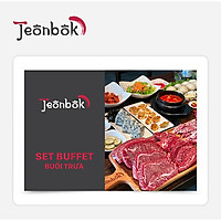 Jeonbok - Set Buffet Trưa