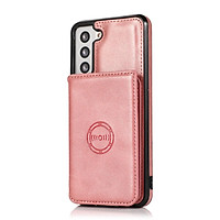 Flip Casing For Samsung Galaxy S21 S20 Ultra S21 S20 Plus S21+ S20+ S20 FE 5G PU Leather Case Dual Layer Card Slots Stand Holder Wallet Pouch Cover