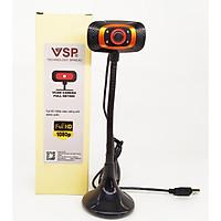 Webcam VSP 1080p FullHD / Chân Cao / Có Đèn - lk1984 - màu ngẫu nhiên