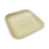 Bộ 10 Đĩa mo cau A hình vuông sâu 1.5cm - An toàn sức khỏe - Thân thiện môi trường