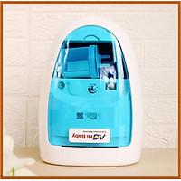 Máy xông khi dung và hút mũi họng 2 trong 1 AG HiBaby - Tạo khí dung và hút sạch dịch mũi trẻ em an toàn, vệ sinh, tiện dụng - Lực hút khỏe, chạy êm - Bảo hành 8 năm - Hàng Việt nam [TBYT H-Care]