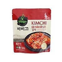 [Chỉ Giao HCM] - Kim chi cải thảo cắt lát Bibigo - gói 100gr