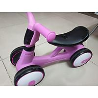 Xe chòi chân 4 bánh tự cân bằng cho bé(có đèn có nhạc) Xe chòi chân thăng bằng