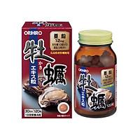 Thực Phẩm Chức Năng Tinh Chất Hàu Tươi Nhật Bản Tăng Sinh Lý Nam, Hỗ Trợ Chức Năng Gan Orihiro Oyster 12mg Hộp 120 Viên