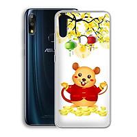 Ốp lưng dẻo cho điện thoại Zenfone Max Pro M2 - 01219 7945 HPNY2020 05 - Xuân Canh Tý - Hàng Chính Hãng