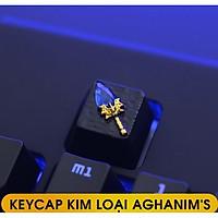 Keycap Lẻ Cho Bàn Phím Cơ - Chất Liệu Kim Loại