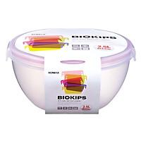 Hộp Nhựa Tròn Komax 71333 2.5L