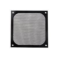 120mm Aluminum Alloy Stainless Mesh Fan Filter Dust Guard for PC Case Fan Black