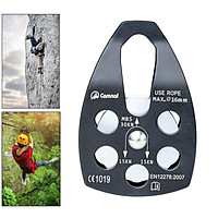 Climbing Pulley Rescuing Hauling Rigging Pulleys Micro Pulley Equip Black