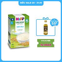 Bột ăn dặm dinh dưỡng Gạo nhũ nhi HiPP Organic 200g