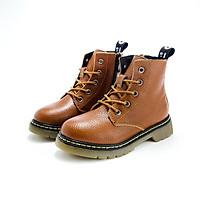 Giày bốt cho bé trai bé gái 3 - 15 tuổi GC45 phong cách Âu Mỹ Chất liệu da thật 100%