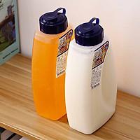 Bộ 2 bình nhựa có nắp đậy chịu nhiệt cao cấp với dung tích 2000ml - Hàng Nội Địa Nhật