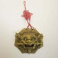 Hổ phù trấn trạch 15cm bằng đồng