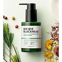SỮA RỬA MẶT SOME BY MI BYE BYE BLACKHEAD 30 DAYS MIRACLE GREENTEA TOX BUBBLE 120ML