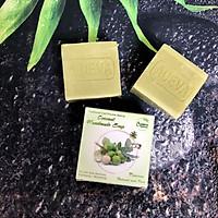 Xà phòng Mù u Adeva Naturals (3 bánh - 100 gr/ 1 bánh) - Xà phòng handmade với thành phần từ thiên nhiên, an toàn dịu nhẹ, cho làn da mềm mại - Không gây khô rít da