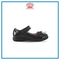 Giày Búp Bê Đi Học Bé Gái Crown Space UK School Shoes CB3022 Cao Cấp Nhẹ Êm Thoáng Mát Size 28-36/4-14 Tuổi