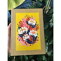 Sổ handmade flower 2