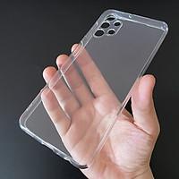 Ốp lưng silicon Gor cho Samsung Galaxy A32 5G siêu mỏng, có gờ bảo vệ camera- Hàng nhập khẩu