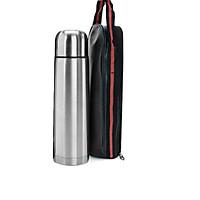 Bình giữ nhiệt 500ml ( bình trơn, có nút bấm ) tặng túi