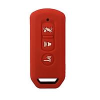 Bọc khóa Smartkey Honda SH, SHmode, PCX (Màu Đỏ Cam)