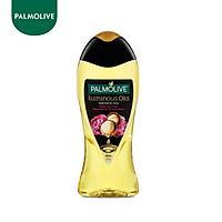 Sữa tắm dưỡng ẩm Palmolive Luminous tinh dầu thiên nhiên từ hạt Mắc ca và hoa mẫu đơn 400ml