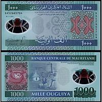 Tiền Cộng hòa Hồi giáo Mauritanie, 1000 Ouguiya màu sắc bắt mắt