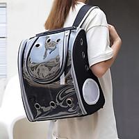 Pet Carrier Bag Breathable Dog Outdoor Travel Transparent Backpack