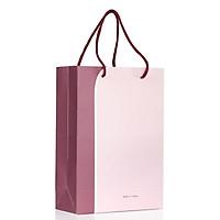 Combo 20 túi giấy đựng mỹ phẩm cứng đẹp (màu hồng)