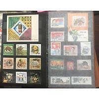 Album tem đã ghép gần 100 con tem các thời khác nhau của Việt Nam