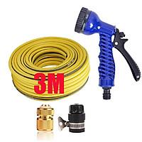 Bộ vòi tưới cây,rửa xe tăng áp lực nước 3-5m(cút đồng nối nhựa đen 713-2) 206843
