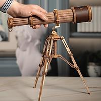 Đồ chơi Lắp ráp gỗ 3D Mô hình Kính thiên Văn Monocular Telescope ST004