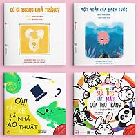Sự kỳ diệu của màu sắc - Combo 4 cuốn Ehon Nhật Bản cho bé 0 - 6 tuổi