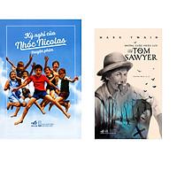 Combo 2 cuốn sách: Kỳ nghỉ của nhóc Nicolas truyện phim + Những cuộc phiêu lưu của Tom Sawyer