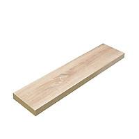 Kệ gỗ treo tường thanh ngang giá đỡ âm chắc chắn KT229-80 (Vân gỗ sồi)