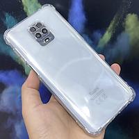 Ốp lưng cho Xiaomi Redmi Note 9S - Redmi Note 9 Pro TPU Trong Suốt Che Cam
