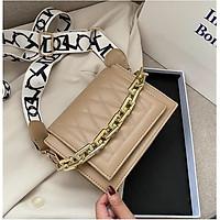 Túi đeo chéo nữ chỉ nổi style Hàn quốc hottrend HANAMA 746