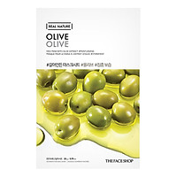 Mặt Nạ Giấy Miếng The Face Shop Real Nature Olive Face Mask 32500152 (20g)